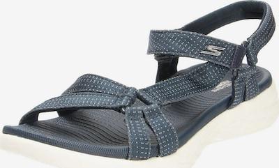 SKECHERS Trekinga sandales zils / balts, Preces skats
