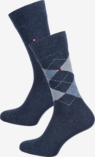 TOMMY HILFIGER Socken in blau / rauchblau / grau, Produktansicht