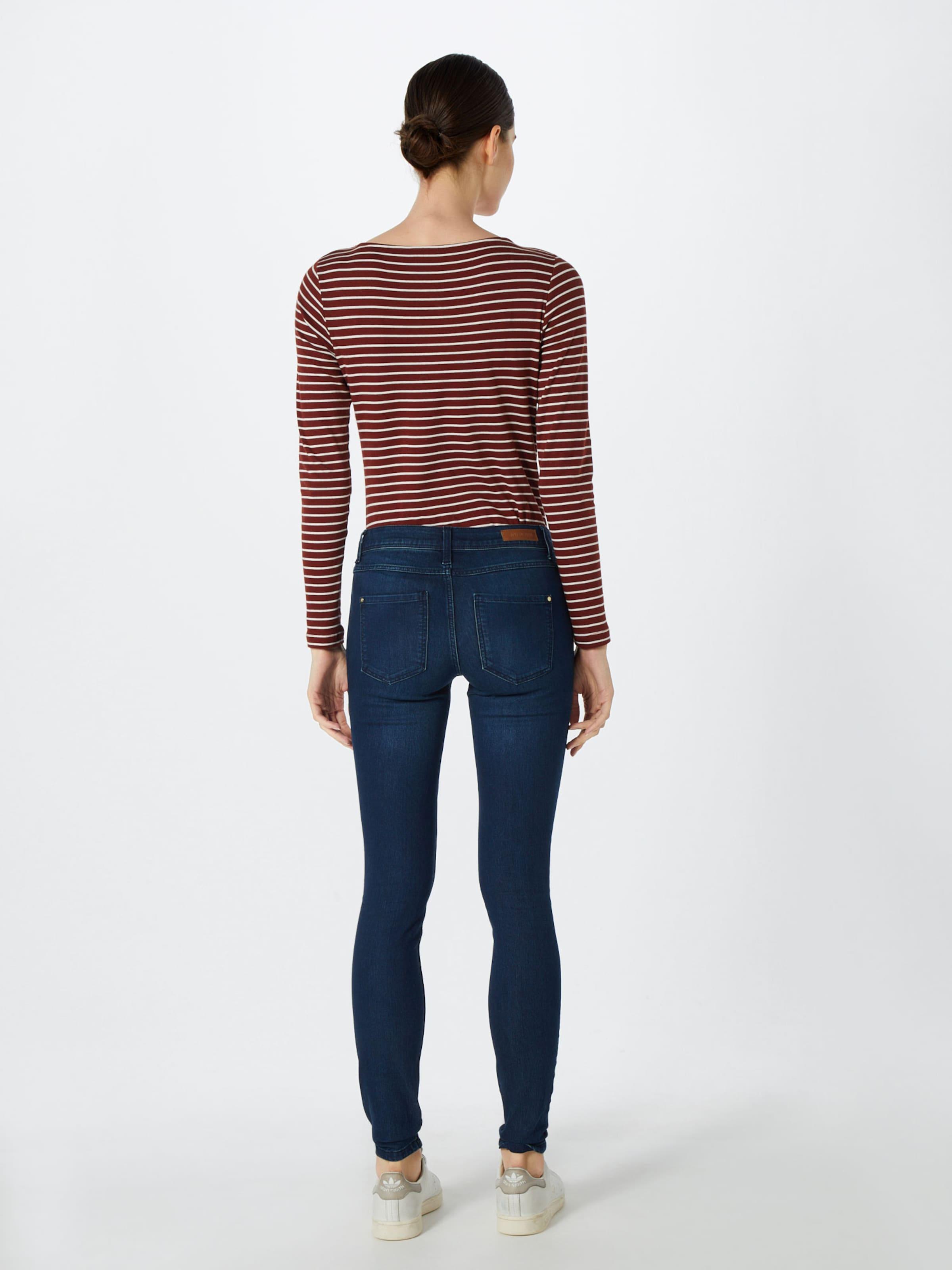 De Jacqueline Blauw Denim In 'jdyflora D Dnm' Jeans Skinny Rw Blue Yong L4ARj5