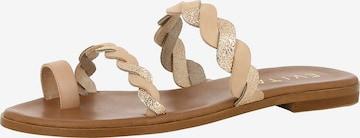 EVITA Sandale 'Olimpia' in Beige