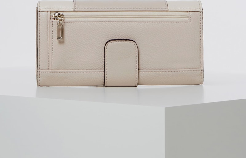 GUESS Portemonnaie in beige taupe