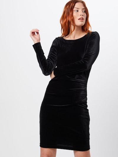 Kaffe Koktejl obleka 'Kelly dress' | črna barva: Frontalni pogled