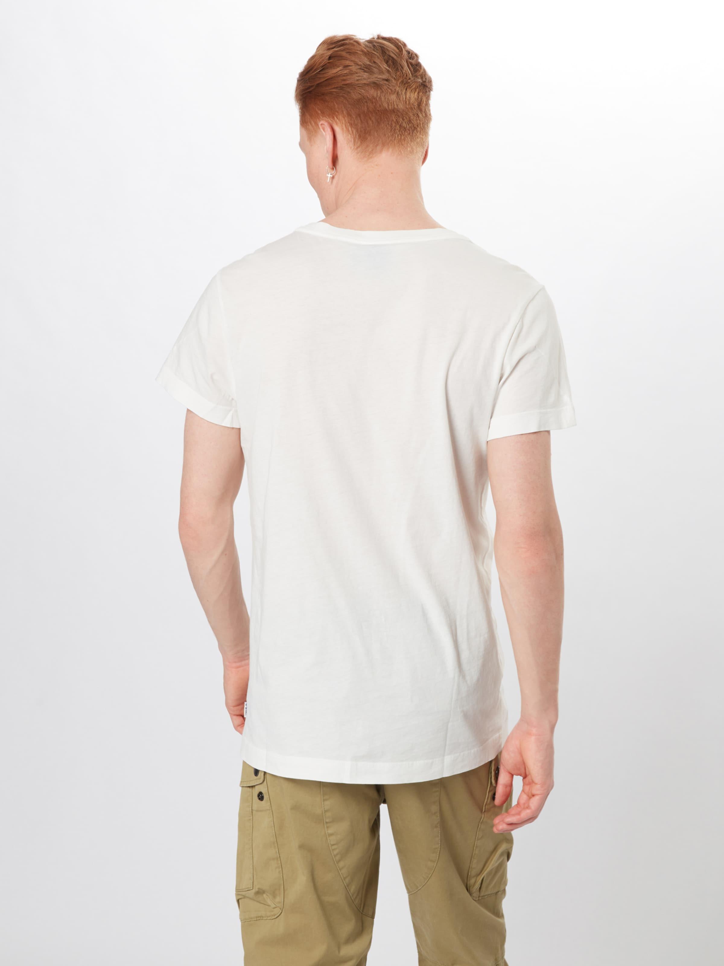 Raw T Cassé G En shirt Blanc 18' star 'graphic sBhdCtQxr