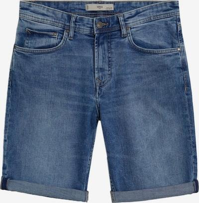 MANGO MAN Shorts in blue denim, Produktansicht