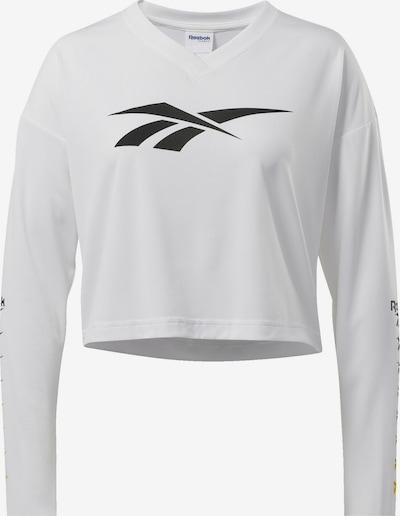 Reebok Classic Shirt 'Classics Vector' in schwarz / weiß, Produktansicht