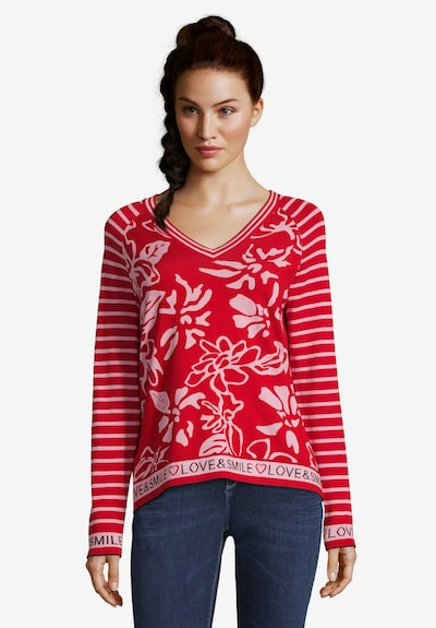 Betty Barclay Feinstrickpullover in rosé / rot: Frontalansicht