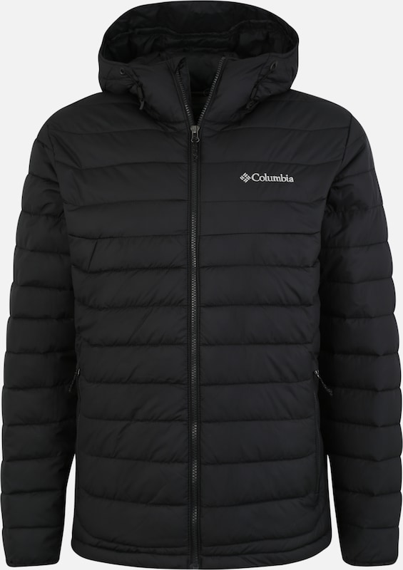 COLUMBIA Steppjacke 'Powder Lite' in schwarz, Produktansicht