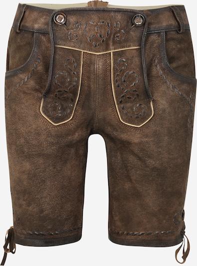 MARJO Pantalon folklorique '013 P47 Magit' en brun foncé, Vue avec produit