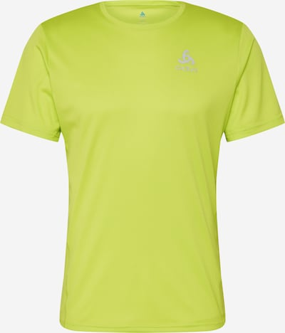 ODLO Functioneel shirt 'ELEMENT Light' in de kleur Neongroen, Productweergave