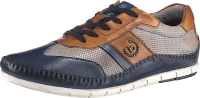 bugatti Schnürschuhe 'Spartan' in blau / braun / grau, Produktansicht