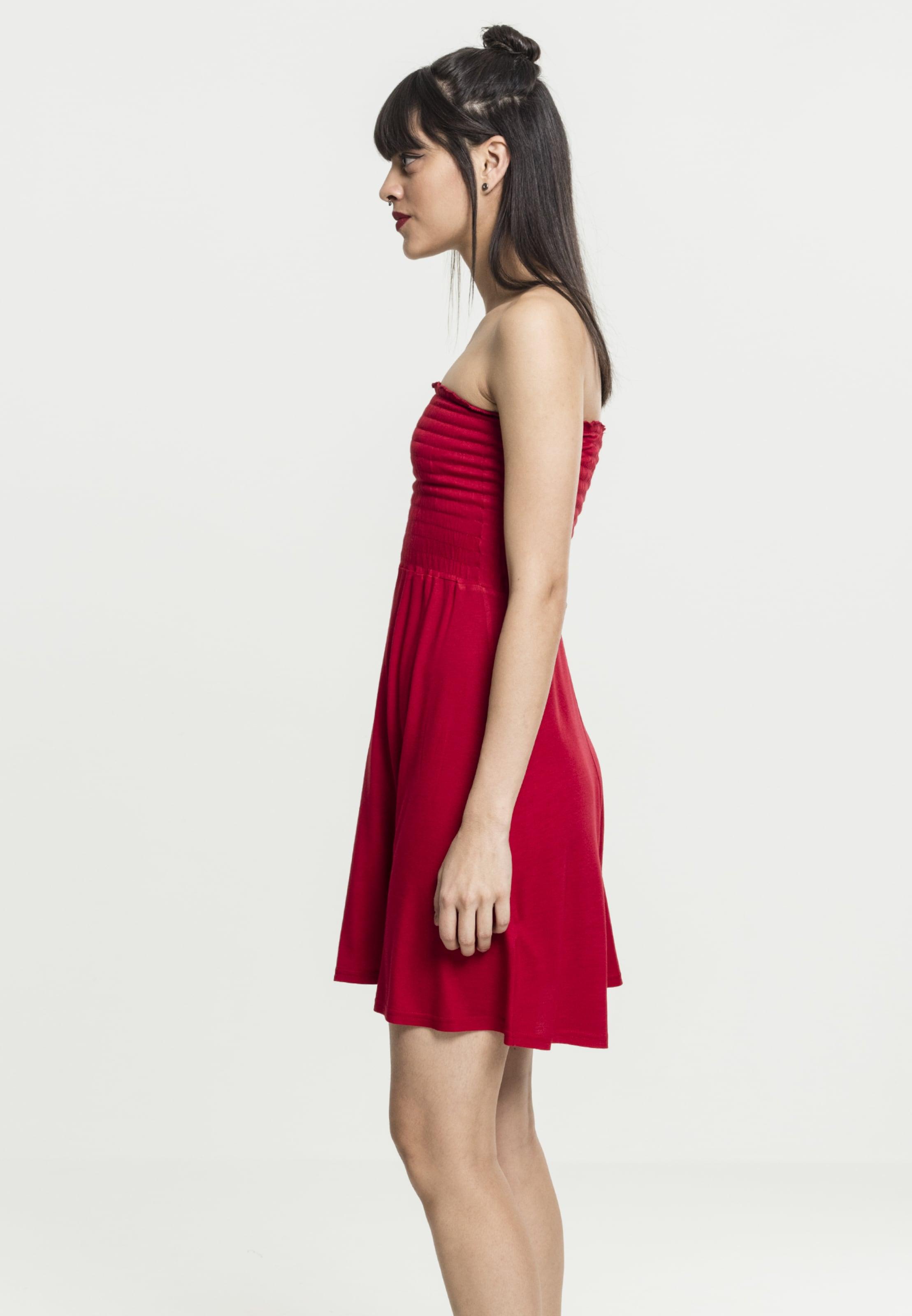 In Urban Kleid Kleid Classics Classics Feuerrot Urban Feuerrot Urban Classics Kleid In LSAqc354Rj