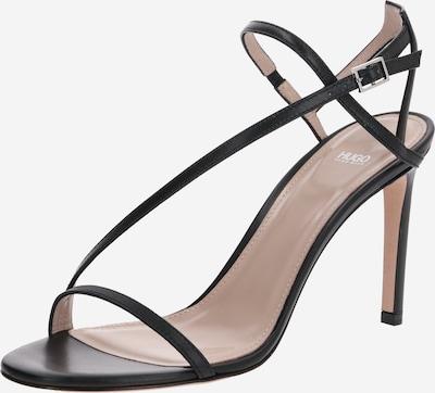 HUGO Sandales 'Sienna Sandal 90-C' en noir, Vue avec produit