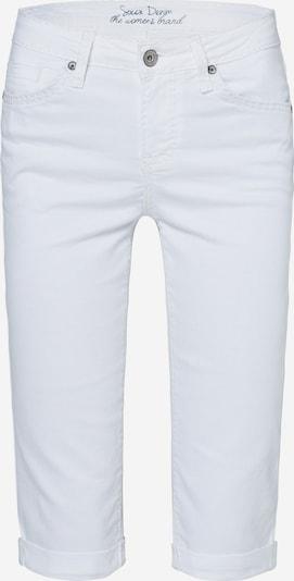Soccx Knielange Jeans RO:MY in weiß, Produktansicht