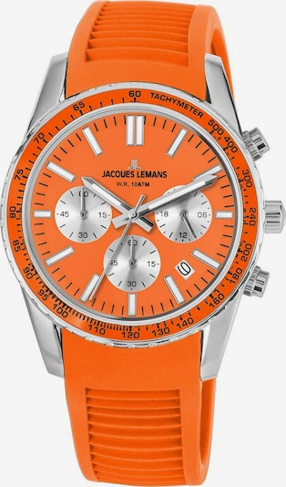 Jacques Lemans Chronograph 'Liverpool' in orange, Produktansicht