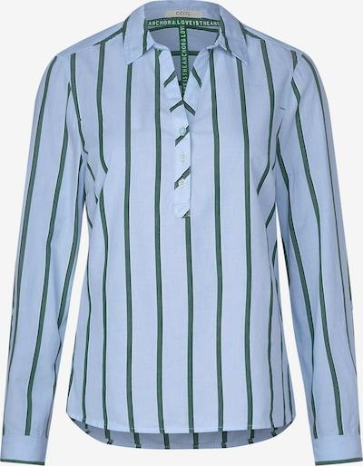 CECIL Bluse in rauchblau / smaragd, Produktansicht