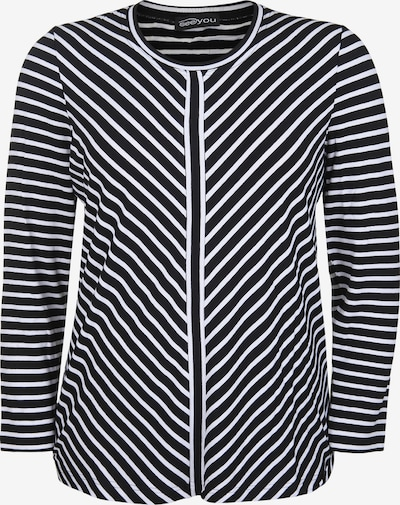seeyou Shirt in de kleur Zwart / Wit, Productweergave