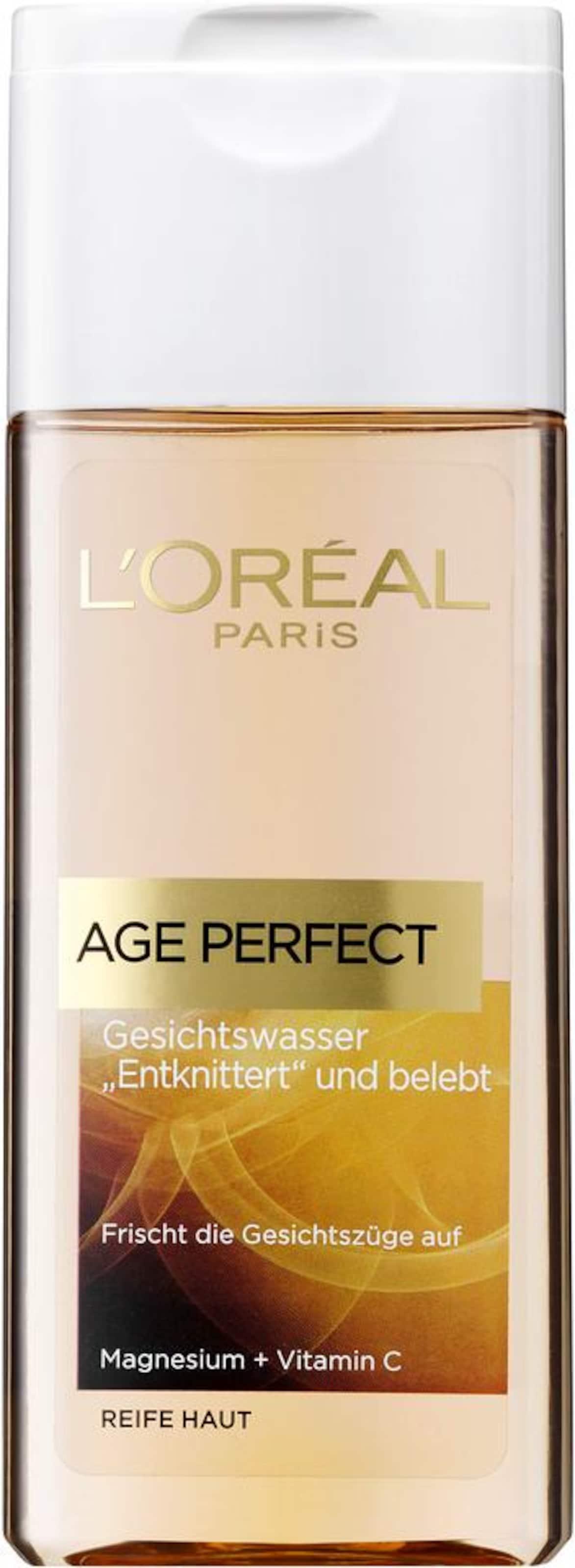 L'Oréal Paris 'Age Perfect Gesichtswasser', Gesichtsreinigung