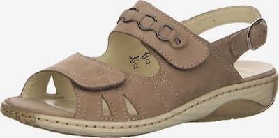 WALDLÄUFER Sandale in hellbeige, Produktansicht