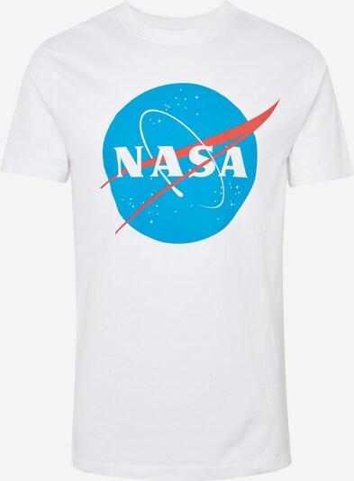 Mister Tee T-Shirt 'NASA' in blau / rot / weiß: Frontalansicht