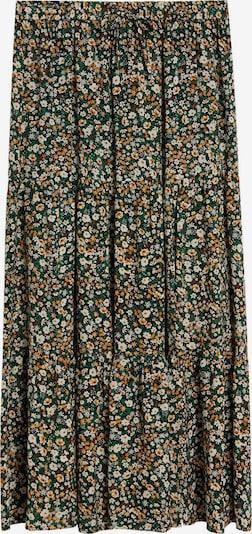 VIOLETA by Mango Suknja u zelena / narančasta / bijela, Pregled proizvoda