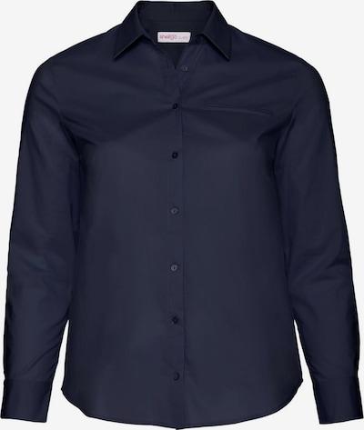 SHEEGO Hemdbluse im klassischen Design in marine, Produktansicht