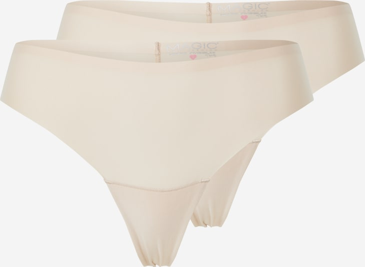 MAGIC Bodyfashion String 'Dream Invisibles Thong' in creme, Produktansicht