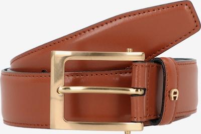 AIGNER Riem in de kleur Cognac / Goud, Productweergave