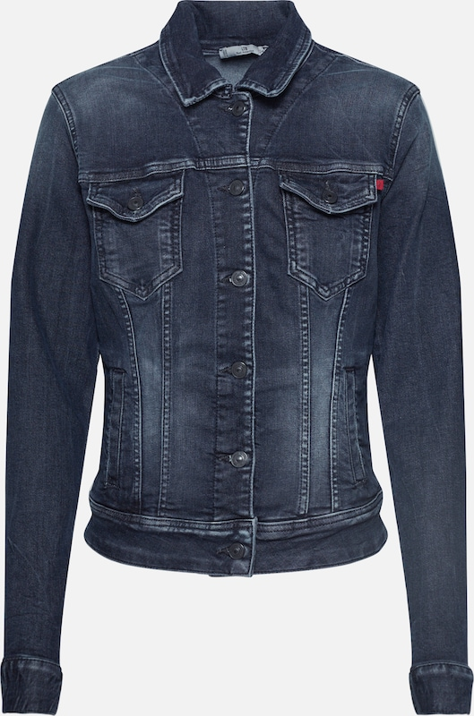 LTB Jeansjacke 'Dean x Jacket' in black denim, Produktansicht