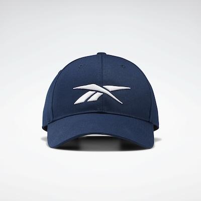 REEBOK Cap in enzian / weiß, Produktansicht