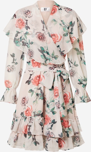Forever Unique Kleid in beige / mischfarben, Produktansicht
