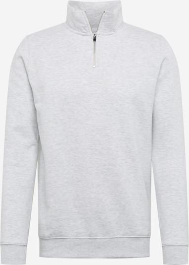 BURTON MENSWEAR LONDON Pullover 'FROST HALF ZIP' in grau, Produktansicht