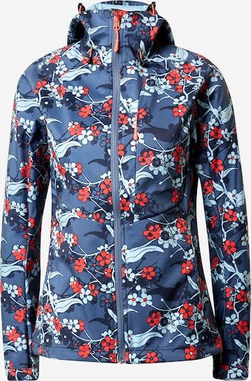 ICEPEAK Outdoorjas 'Barby' in de kleur Blauw / Gemengde kleuren, Productweergave