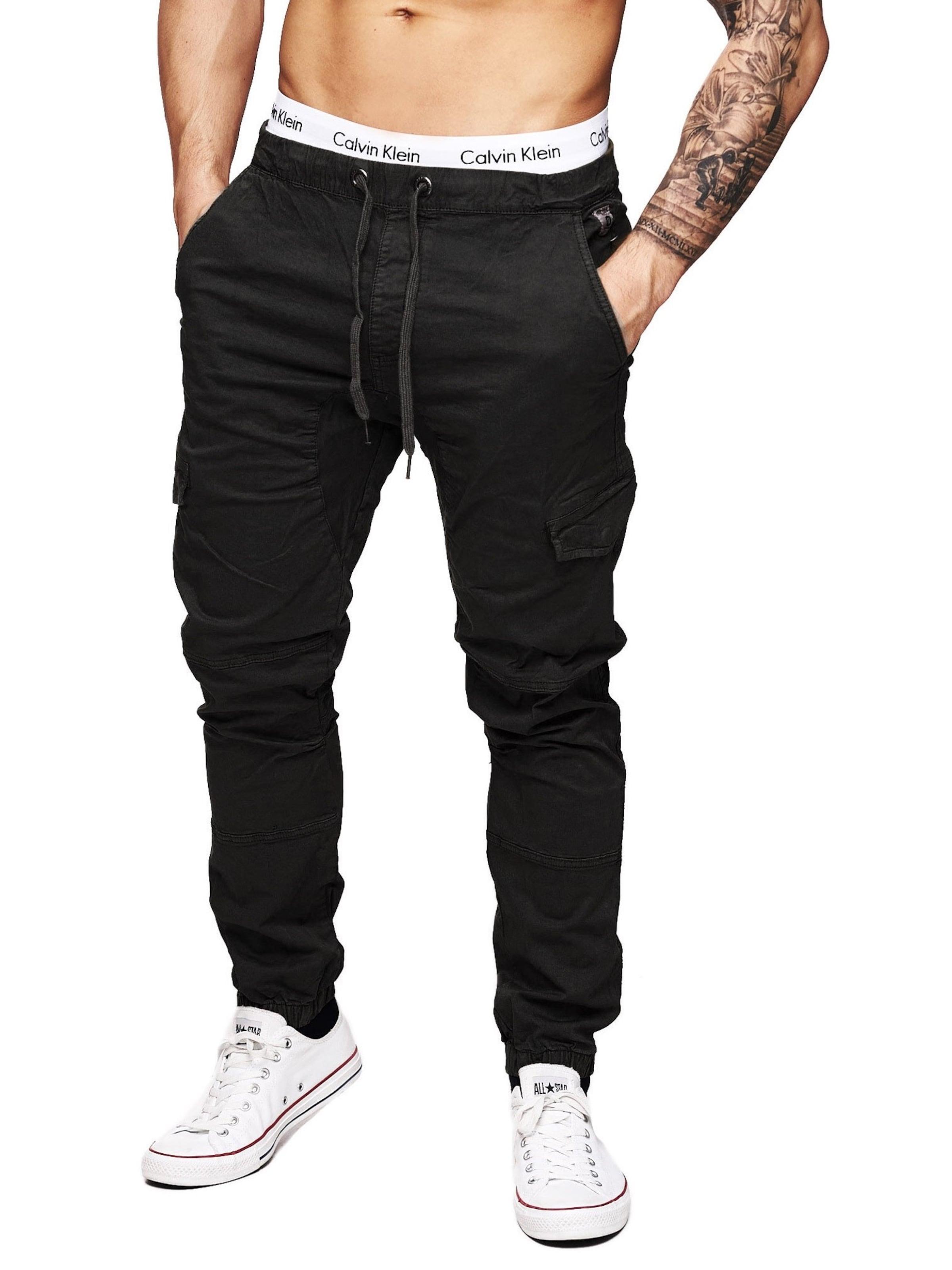 Schwarz Cargo Indicode Levi In Jeans ' Cargohosen shoCBQrdtx
