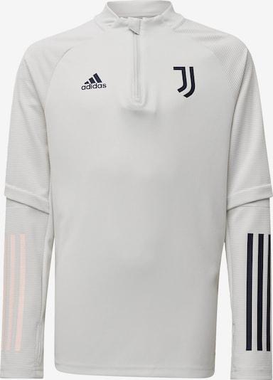 ADIDAS PERFORMANCE Trainingsoberteil 'Juventus Turin' in schwarz / weiß: Frontalansicht