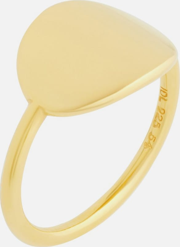 ID Fine Ring 'Dash Statement' in gold, Produktansicht