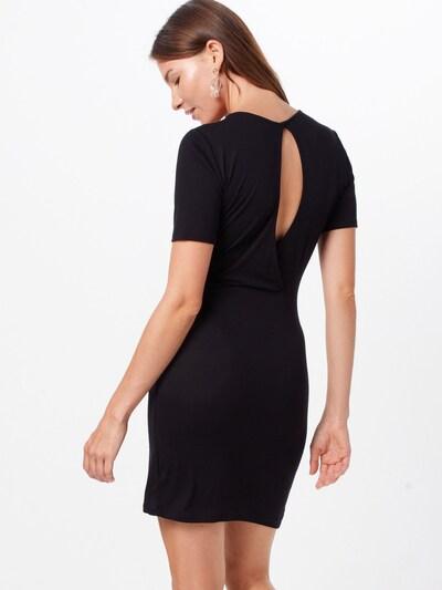 ONLY Kleid in schwarz: Rückansicht