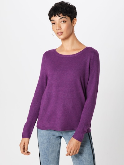 COMMA Pullover in lila, Modelansicht