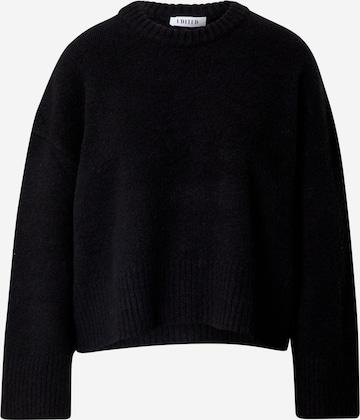 Pullover 'Grace' di EDITED in nero