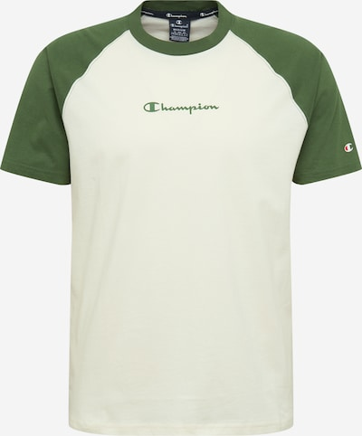Champion Authentic Athletic Apparel T-Shirt in grün / weiß, Produktansicht