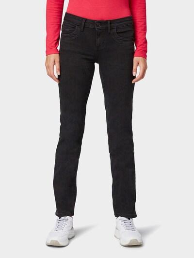 TOM TAILOR Jeans 'Alexa' in black denim, Modelansicht