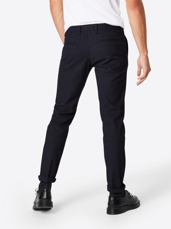 Pantalon Chino Foncé Drykorn Bleu 'hoop 2' En wOPk0n