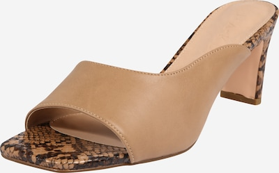 NA-KD Sandaal 'two toned mules' in de kleur Beige / Bruin, Productweergave
