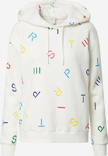 ESPRIT Sweatshirt 'AOP' in mischfarben / offwhite, Produktansicht