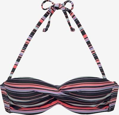 vegyes színek / fekete LASCANA Bikini felső 'Riviera', Termék nézet