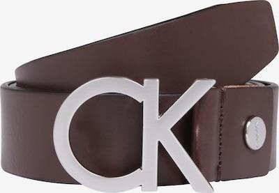 Calvin Klein Ledergürtel 'ADJ. BUCKLE BELT' in braun, Produktansicht