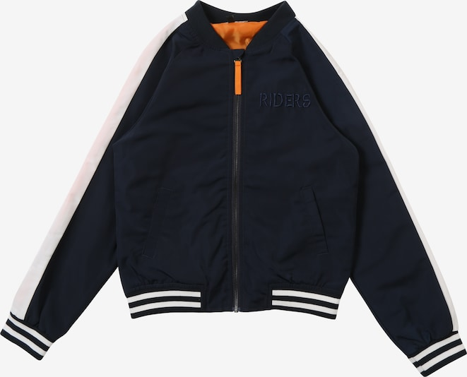 NAME IT Jacke 'MASON' in navy / weiß: Frontalansicht
