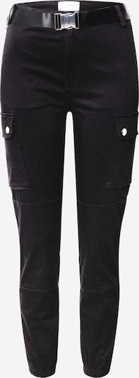 Pantaloni cu buzunare Tally Weijl pe negru, Vizualizare produs