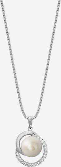 JOOP! Kette '2023380' in silber / perlweiß, Produktansicht