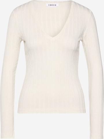 T-shirt 'Elin' EDITED en blanc