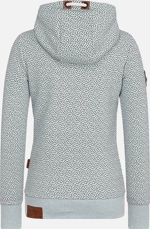 naketano Pullover in hellgrau graumeliert mint | ABOUT YOU